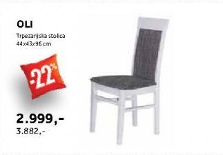 Trpezarijska stolica Oli