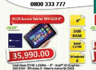 Tablet Iconia W4-820