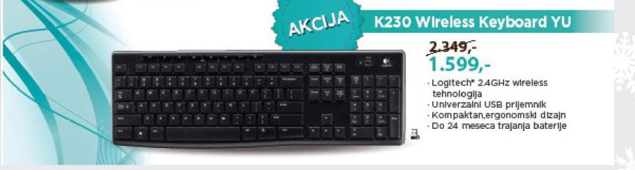 Tastatura wireless K230