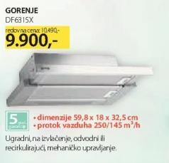 Aspirator DF6315X