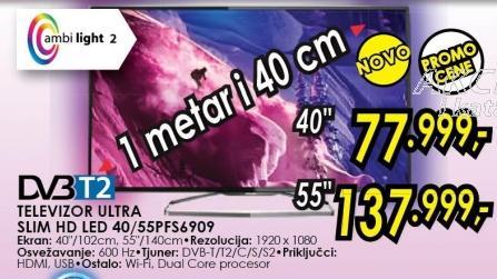 """TElevizor LED 40"""" 3D 40pfs6909"""
