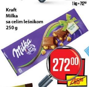 Čokolada whole nuts