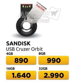 USB fleš drajv Cruzer Orbit 4GB