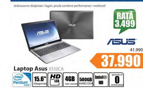 Laptop X550CA