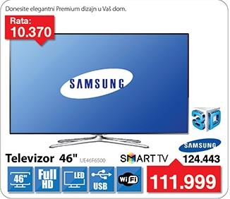 "Televizor LED 46"" UE46F6500"