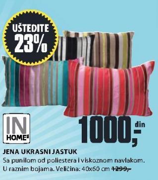 Ukrasni jastuk Jena