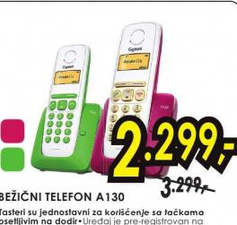 Gigaset bežični telefon A130