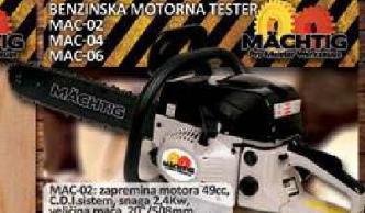 Benzinska motorna testera MAC-02