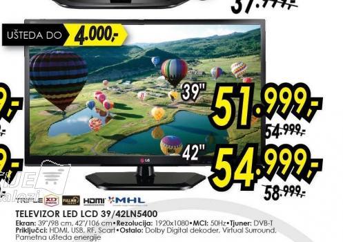 Televizor LED LCD 42LN5400