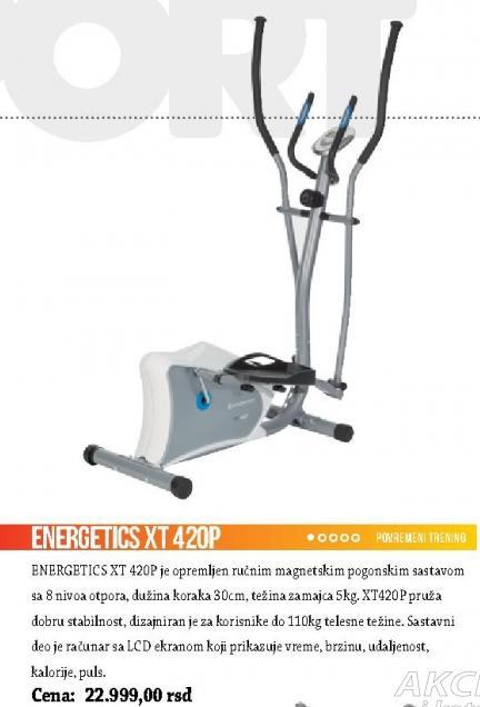 Trenažer Energetics XT 420P