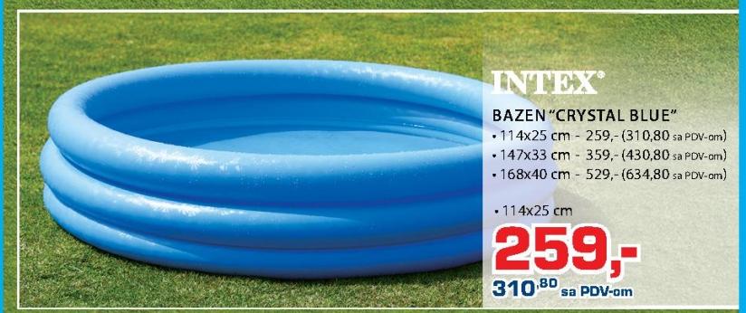 "BAZEN ""CRYSTAL BLUE"""