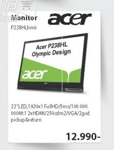LED Monitor P238HLbmii