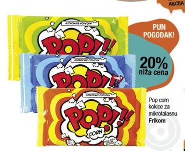 20% popusta na Pop Corn kokice za mikrotalasnu