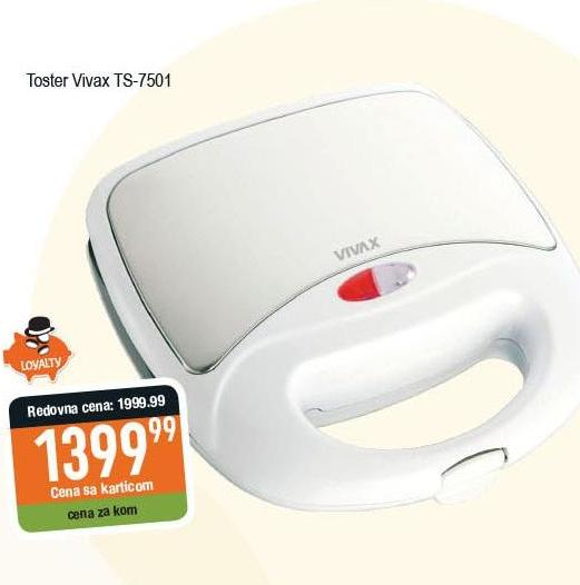 Toster grill TS 7501 BLS