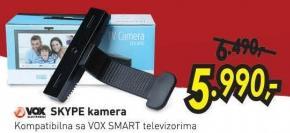 Kamera Skype za Vox Smart TV