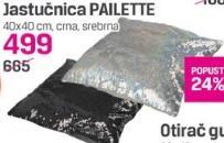 Jastučnica Pailette