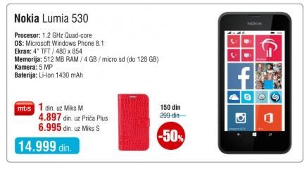 Mobilni telefon Lumia 530