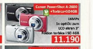 Digitalni fotoaparat A-2600 silver