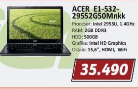 Laptop E1-532-29552g50Mnkk