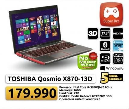 Laptop Satellite C875-S7205