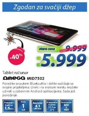Tablet Mid7502