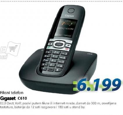 Fiksni telefon C610 Gigaset