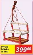 Ljuljaška drvena za decu