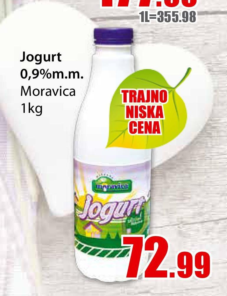 Jogurt 0,9% mm