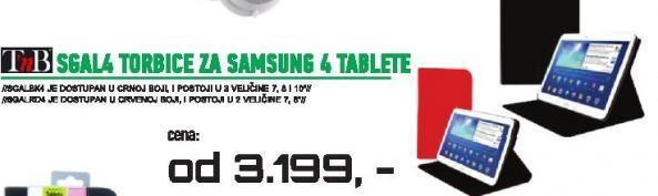 Torbica SGAL 4 za Samsung 4 tablete