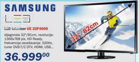 LED televizor UE32F4000
