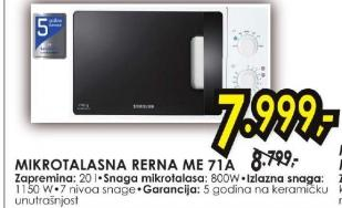 Mikrotalasna ME71A