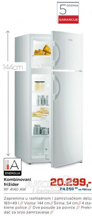 Kombinovani frižider Rf 4140 Aw