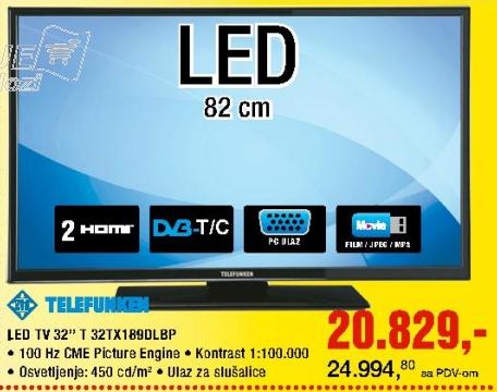 LED TV T 32TX189DLBP