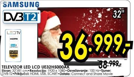 """Televizor LED 32"""" Ue32h5000ak"""