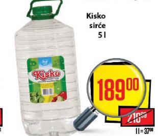 Sirće  Kisko