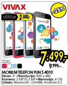 Mobilni telefon Fun S 4010