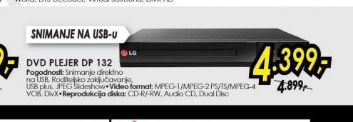 DVD plejer DP 132
