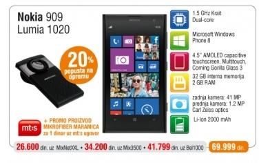 Mobilni Telefon Lumia 1020