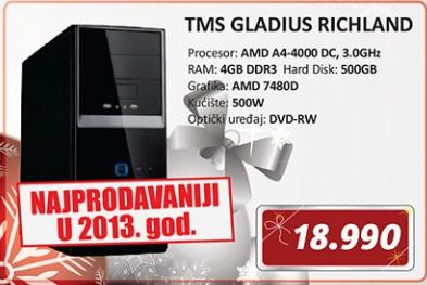 Desktop računar TMS GLADIUS RICHLAND