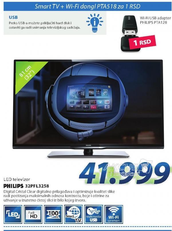 "Televizor 32""PFL3258H/12 LED"
