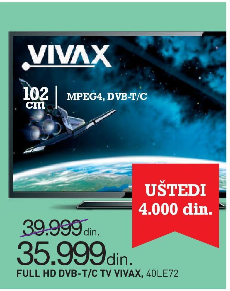 Televizor Imago LED T 40LE72 Full HD