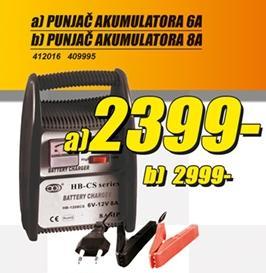 Punjač akumulatora 8A