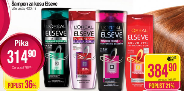 Šampon za kosu Elseve