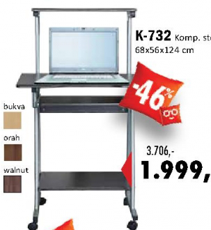 Kompjuterski sto K-732