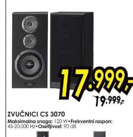 Zvučnici CS-3070