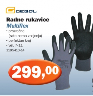 Radne rukavice Multiflex