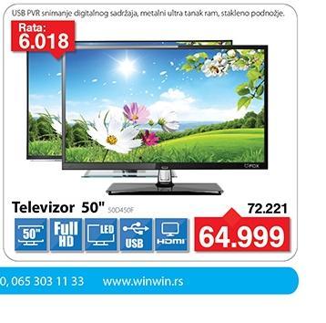 """Televizor TV 50"""" 3D LED 50D450F"""