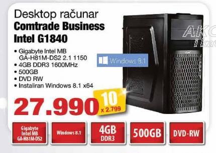 Računar Business Intel G1840