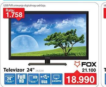 """Televizor TV 24"""" LED 24LE200"""