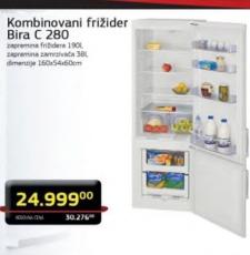Kombinovani frižider C 280
